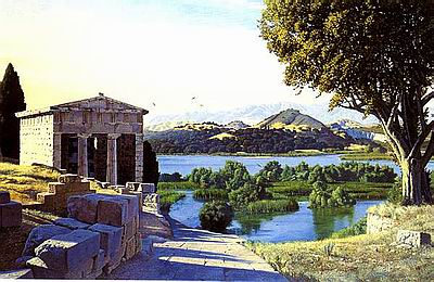 Landscape for Baucis and Philemon (D.Ligare)