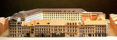 Rue de Laeken,Bruxelles,Model View
