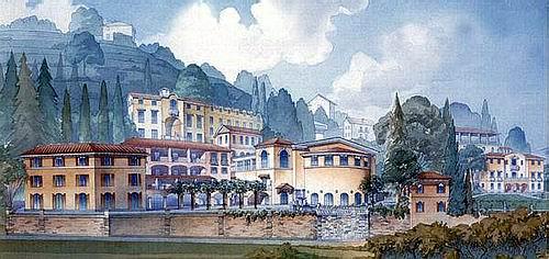 Stasis,University Campus in Lugano David Mayernick